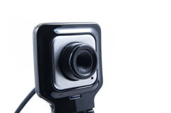 Fyrkantig webcam Royaltyfri Bild