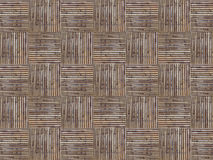 Fyrkantiga bambuhemslöjder Royaltyfria Bilder