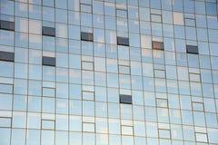 fyrkantiga fönster Arkivfoton