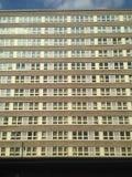 fyrkantiga fönster Royaltyfri Fotografi