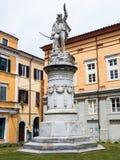 Fyrkantiga Garibaldi ägnade till hjälten av de två världarna Royaltyfria Foton