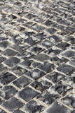 Fyrkantiga granitstenar Arkivfoton