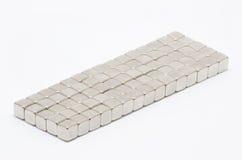 Fyrkantiga magneter Arkivbild