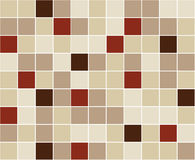 fyrkantiga tegelplattor för bakgrund stock illustrationer