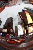 fyrkantiga tider stad New York Fotografering för Bildbyråer