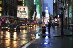 fyrkantiga tider stad New York Royaltyfria Bilder