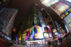 fyrkantiga tider stad New York Arkivbild