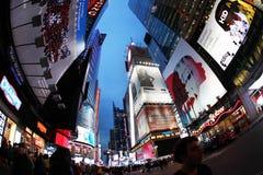 fyrkantiga tider stad New York Arkivfoton