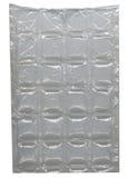Fyrkantigt plast- emballage Arkivbilder