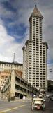 fyrkantigt torn för banbrytande seattle smeder Arkivbild