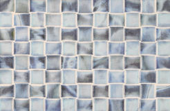 Fyrkanttegelplattor i blåttmarmor Royaltyfria Bilder