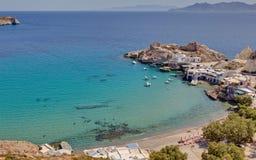 Fyropotamos, Milos Foto de Stock Royalty Free