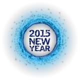 2015 fyrverkerier Arkivbilder