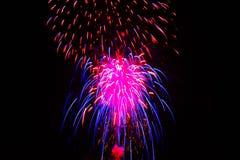 fyrverkerier fjärde juli Royaltyfri Fotografi