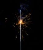 fyrverkerier som sparkling Fotografering för Bildbyråer