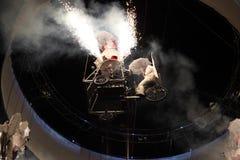 Fyrverkeriexplosion Arkivfoto