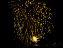 Fyrverkerishow/Guy Fawkes Night Royaltyfria Foton