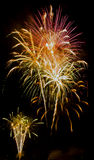Fyrverkerishow/Guy Fawkes Night Arkivfoton