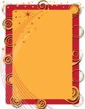 fyrverkerispiral Royaltyfri Bild