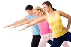 fysisk övning Fotografering för Bildbyråer