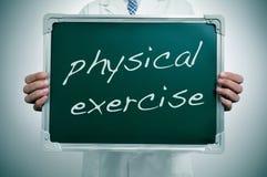 Fysisk övning Arkivbild
