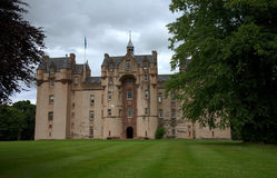 Fyvie城堡阿伯丁郡苏格兰 库存照片