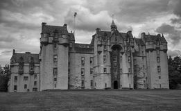 Fyvie Castle Aberdeenshire Scotland Royalty Free Stock Photo