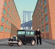 Gángster de la mafia de Nueva York Imagen de archivo