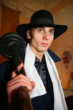 Gángster italiano, mafia judía de Chicago de los años 20, años de los años 30 Fotografía de archivo