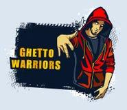 Gángster joven Imagen de archivo libre de regalías