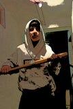 Gángster joven Imagen de archivo
