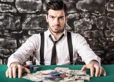 gángster póker Imagen de archivo libre de regalías