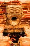 Gárgola del canalón de agua Foto de archivo libre de regalías