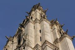 Gárgola en la catedral de Amiens fotografía de archivo libre de regalías
