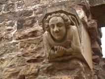 Gárgola en las paredes de la abadía Nottingham de Rufford cerca del bosque de sherwood Reino Unido Fotografía de archivo libre de regalías