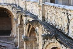 Gárgolas en el monasterio de Jeronimos Imagenes de archivo