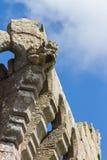 Gárgula do castelo do Raglan Fotos de Stock Royalty Free