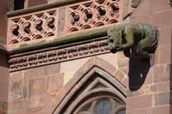 Catedral gótico de Freiburg, Alemanha do sul imagens de stock royalty free