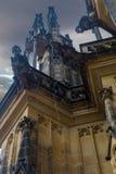 Gárgula na catedral metropolitana de Saint Vitus Imagem de Stock