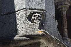 Gárgula no convento da ordem de Cristo, Tomar, Portugal, Fotografia de Stock Royalty Free