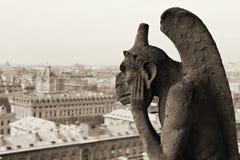 Notre Dame, Paris. Fotos de Stock Royalty Free