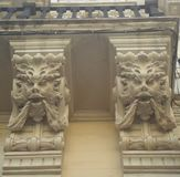 Gárgulas góticos em Itália Imagem de Stock
