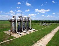Gás e indústria petroleira Fotografia de Stock Royalty Free