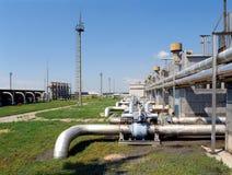 Gás e indústria petroleira Fotos de Stock Royalty Free