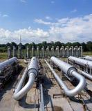 Gás e indústria petroleira Imagens de Stock
