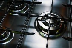 Gás-fogão Fotografia de Stock Royalty Free