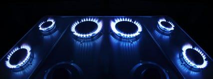 Gás-fogão Fotos de Stock Royalty Free