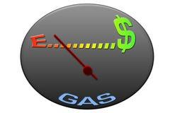 Gás Gauge1 Imagens de Stock