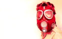 Gás-máscara Fotografia de Stock Royalty Free