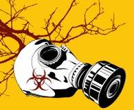 Gás mask Imagens de Stock